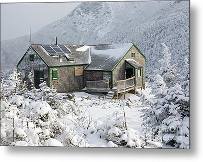 Greenleaf Hut - Mount Lafayette New Hampshire Metal Print by Erin Paul Donovan