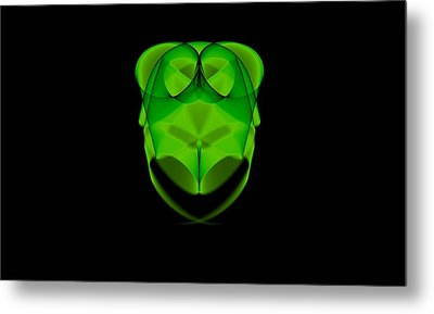 Greenowl - Da Metal Print