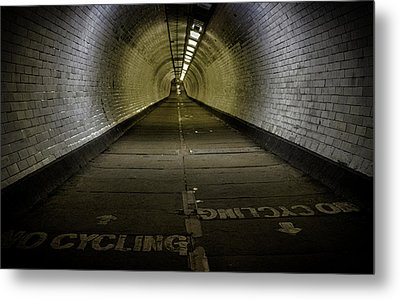 Greenwich Foot Tunnel Metal Print by Martin Newman