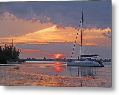Greet The Day Metal Print by HH Photography of Florida
