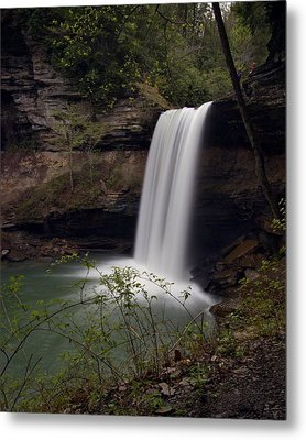 Greeter Falls Metal Print