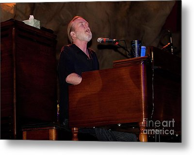 Gregg Allman And Friends Metal Print by Concert Photos