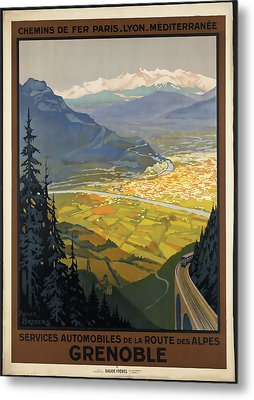 Grenoble Metal Print