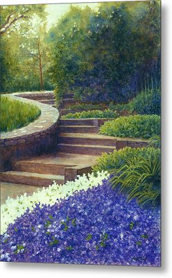 Gretchen's View At Cheekwood Metal Print by Janet King