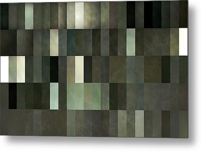 Grey And Gray Metal Print by Michelle Calkins