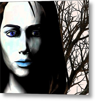 Grief And Depression, Conceptual Image Metal Print by Stephen Wood