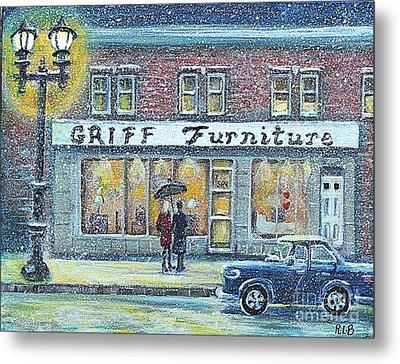 Griff Furniture Metal Print