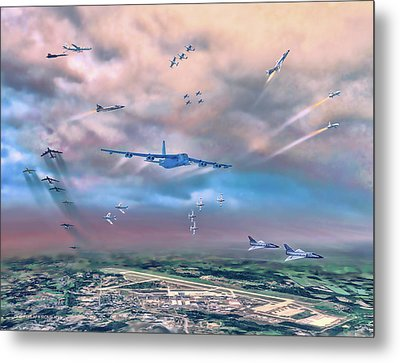 Griffiss Afb Rome Ny Metal Print by Dave Luebbert