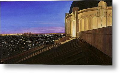 Griffith Park Observatory Metal Print by Christopher Oakley