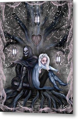 Love Is Complicated Fantasy Art Metal Print
