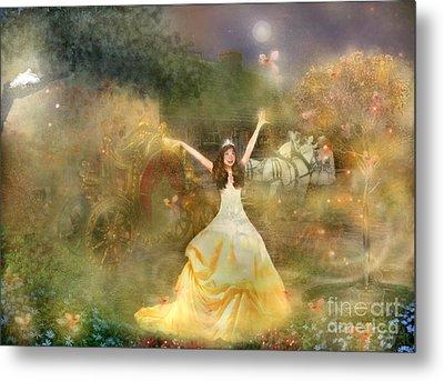 Grimms Fairie Cinderella  Metal Print by Carrie Jackson