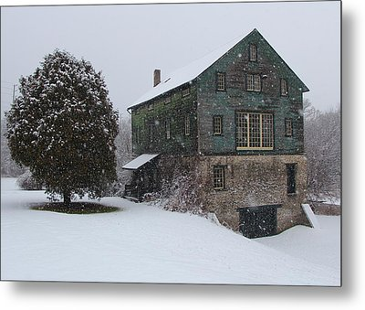Grist Mill Of Port Hope Metal Print