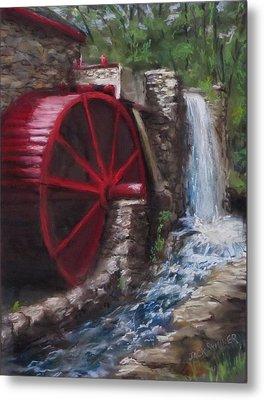 Gristmill Metal Print by Jack Skinner