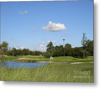 Metal Print featuring the photograph Groendael Golf The Netherlands by Jan Daniels