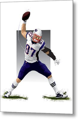 Gronk Metal Print by Scott Weigner