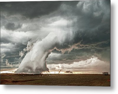 Groom Storm Metal Print