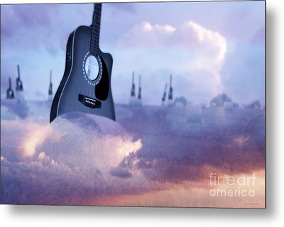 Growing A Country Song Metal Print by Cathy  Beharriell