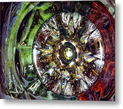 Growing Passion Metal Print by Donna Blackhall