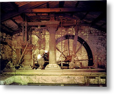Metal Print featuring the photograph Grunge Cane Mill by Robert G Kernodle