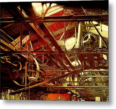 Metal Print featuring the photograph Grunge Power System by Robert G Kernodle