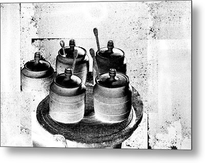 Honey Jars Metal Print by Don Gradner