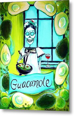 Guacamole Metal Print by Heather Calderon