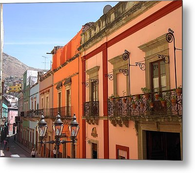 Metal Print featuring the photograph Guanajuato by Mary-Lee Sanders