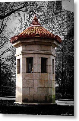 Guardhouse In Prospect Park Brooklyn Ny Metal Print