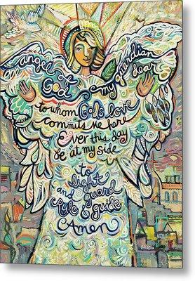 Guardian Angel Metal Print by Jen Norton