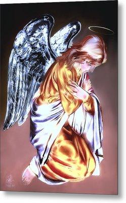 Guardian Angel Metal Print by Pennie  McCracken