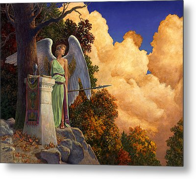 Guardian Of The Horizon Metal Print by Richard Hescox