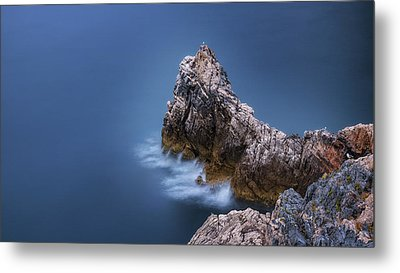 Guardian Of The Sea Metal Print