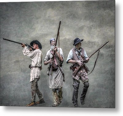 Guardians Of The Frontier Metal Print by Randy Steele
