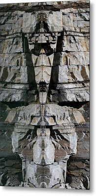 Metal Print featuring the photograph Guardians Of The Lake by Cathie Douglas