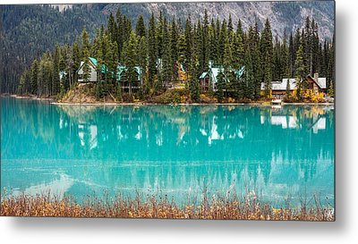 Metal Print featuring the photograph Emerald Lake by Pierre Leclerc Photography