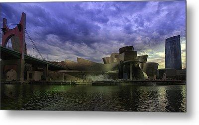Guggenheim Bilbao Metal Print