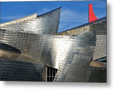 Guggenheim Museum Bilbao - 5 Metal Print by RicardMN Photography