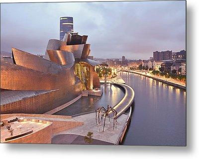 Guggenheim Museum Bilbao Spain Metal Print