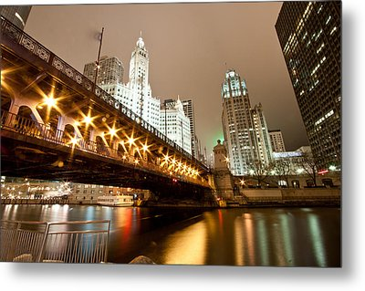 Guide Me Across The River Metal Print by Daniel Chen