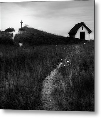 Metal Print featuring the photograph Guiding Light Square by Bill Wakeley