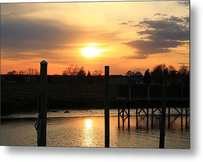 Guilford Low Tide Metal Print
