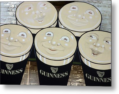 Guiness Time 2 Metal Print