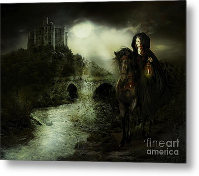 Guinevere Metal Print by Shanina Conway