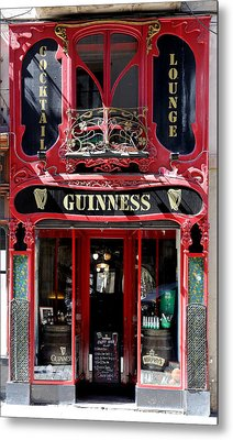 Metal Print featuring the photograph Guinness Beer 5 by Andrew Fare