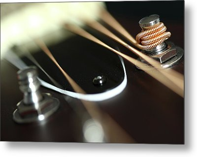 Guitar Fender Metal Print by Mizanur Rahman