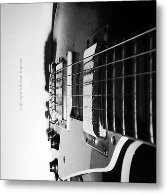 The Guitar  Metal Print by Steven Digman