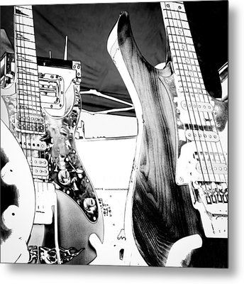 Guitar Group Metal Print