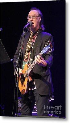 Guitarist Dave Davies Metal Print by Concert Photos