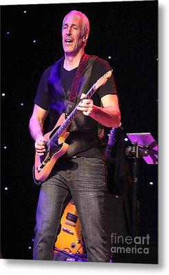 Guitarist Jeff Pevar Metal Print by Concert Photos