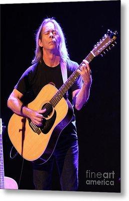 Guitarist Tim Reynolds Metal Print by Concert Photos